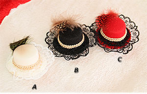 ☆Gorgeous hat☆